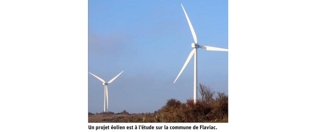 Projet éolien : l'association Serre de Gruas réclame une consultation publique