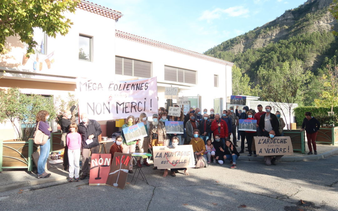 Manifestation Flaviac Gruas Vent Libre
